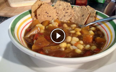 Heart Healthy Hominy Stew