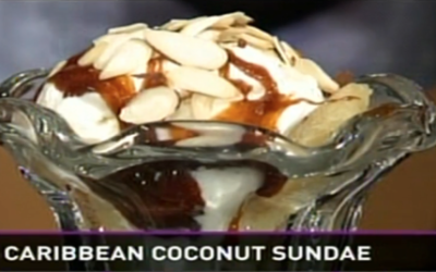 Caribbean Coconut Sundae Recipe w/video
