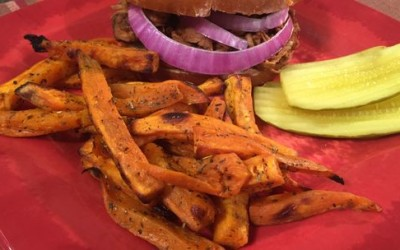 Big Daddy BBQ and Sweet Potato Fries